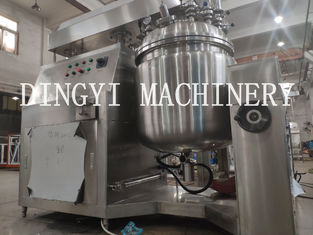 High Shear Toothpaste Making Machine , Large Vacuum Homogenizer Equipment