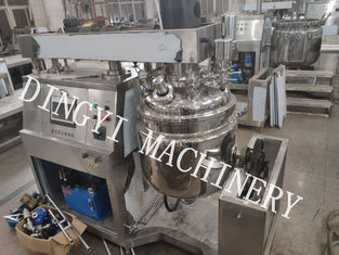 High Safety Vacuum Planetary Mixer With Three Layer Stainless Steel Plate Body